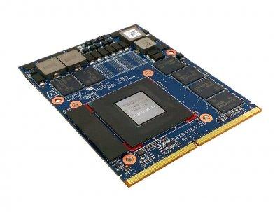 NVIDIA Quadro P3200 MXM 6 ГБ GDDR5