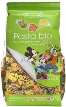 Макаронные изделия DALLA COSTA Disney Микки и компания Томат-шпинат Органические 300 г (8016419400364)