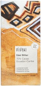 Шоколад Vivani черный органический 70% какао 100 г (4044889000610)
