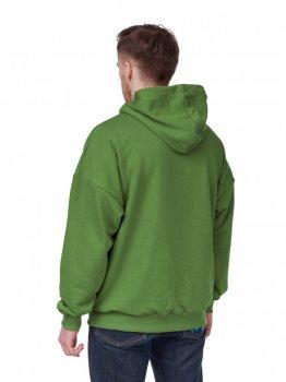 Чоловіче худі-оверсайз GARD з рефлективним шнурком 2/21 темно-зелений 3515