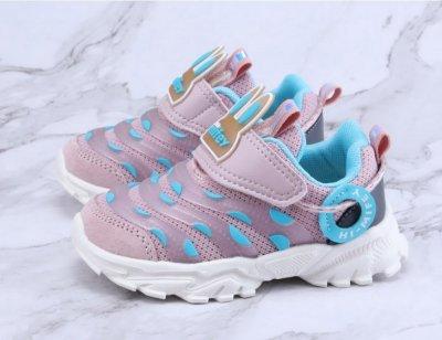 Кросівки для дівчинки Блакитний горошок Hello Mifey Рожевий (57774)