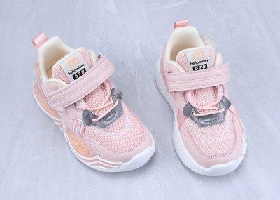 Кросівки для дівчинки Ribbon Hello Mifey Рожевий (57781)