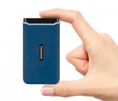 SSD накопичувач Transcend Portable 1GB USB 3.1 Gen 2 ESD370C (TS1TESD370C)