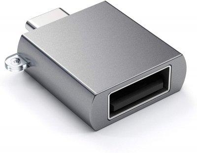 Satechi Type-C USB адаптер Space Gray (ST-TCUAM)
