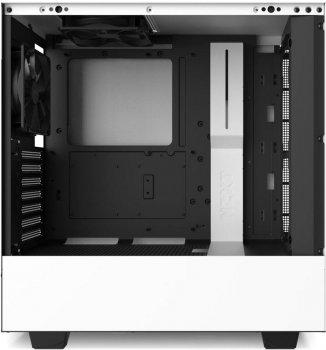 Корпус NZXT H510 Matte Black-White (CA-H510B-W1)