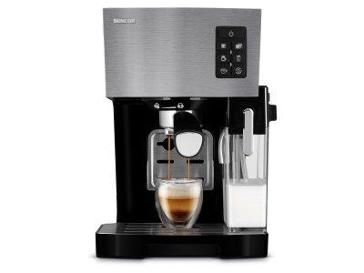 Рожковая кофеварка эспрессо Sencor SES 4050SS
