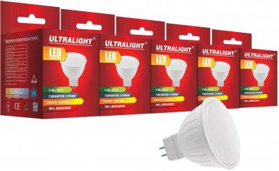 Світлодіодна лампа Ultralight LED MR16 6 W 3000 K G5.3 (UL-51898) 5 шт.