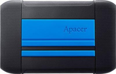 "Жорсткий диск Apacer AC633 1TB 5400rpm 8MB AP1TBAC633U-1 2.5"" USB 3.1 Speedy Blue"