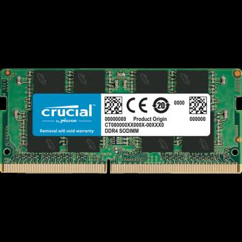 Оперативна пам'ять SO-DIMM Crucial 16GB DDR4 2666 MHz (CT16G4SFRA266)
