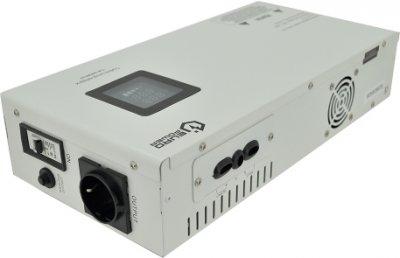 Стабілізатор напруги релейний настінного монтажу EuroPower SLIM-3000SBR LED, 3000VA 2700 W, 140-270Vac, SHUKO 2, Q1 (01164)
