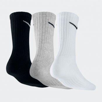 Набір шкарпеток Nike U Nk V Cush Crew — 3P Value SX4508-965 Чорний/Білий M