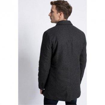 Демісезонне стильне пальто чоловіче Medicine Сіре