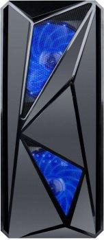 Корпус 1STPLAYER F4-A1 Blue LED (F4-3A1-15)
