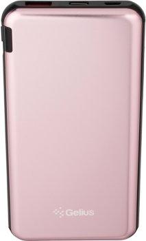 УМБ Gelius Pro UltraThinSteel GP-PB10210 10000 mAh Pink (2099900826207)