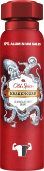 Аэрозольный дезодорант Old Spice Krakengard 150мл (8001841834214)