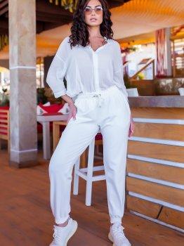 Спортивні штани ELFBERG 5217 Молочні