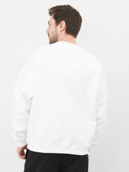 Свитшот Calvin Klein Jeans Censored Relaxed Fit Cn J30J318490-YAF Ck White
