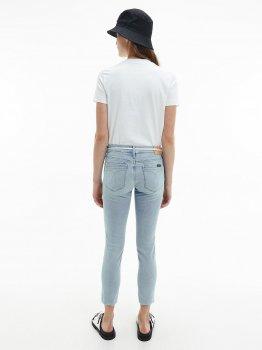 Футболка Calvin Klein Jeans Shrunken Institutional Tee J20J215322-YAF Ck White