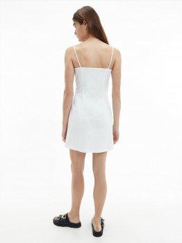 Сарафан Calvin Klein Jeans Cotton Twill Button Dress J20J215673-YAF Ck White