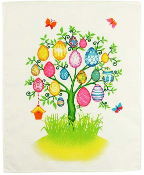 Набор вафельных полотенец Руно Easter 45х60 см 3 шт (708_Easter)