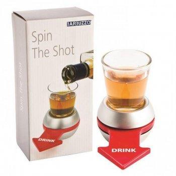 Алкогольна настільна гра чарка-рулетка зі стрілкою