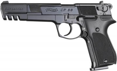 """Пневматичний пістолет WALTHER CP88 6"""" Compatition"""