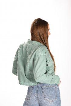 Джинсова куртка RIV.SD RIV5871703 Бірюзовий