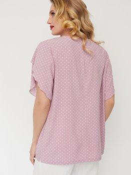 Блузка Miledi Бабочка 101416 Розовая