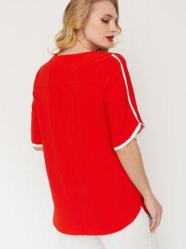 Блузка Miledi Рейма 101431 Красная