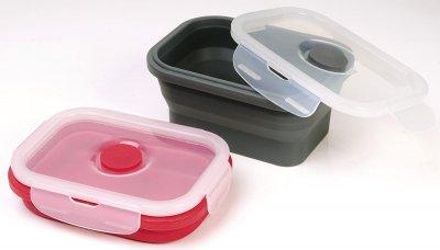 Складаний Контейнер з кришкою Fackelmann для домашніх тварин 540 мл, пластик/силікон (59932)