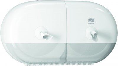 Диспенсер для туалетного паперу TORK SmartOne на 2 мінірулони 682000 білий