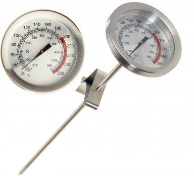 Термометр для м'яса Supretto з неіржавкої сталі Сірий (5981-0001)