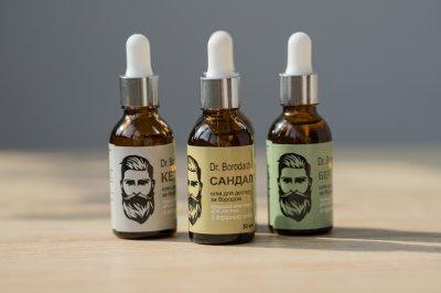 Преміальна олія для бороди Dr.Borodach Сандал 30 мл (ARL2100000004)