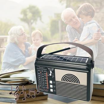 Радіоприймач всехвильовий портативний мережний і акумуляторний з Bluetooth з телескопічною антеною Цифрове міні радіо GOLON RX-BT660T + Bluetooth USB, mp3, WMA бездротовий FM/AM
