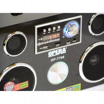 Портативна колонка Opera OP-7708 Радіоприймач-колонка Акустична система