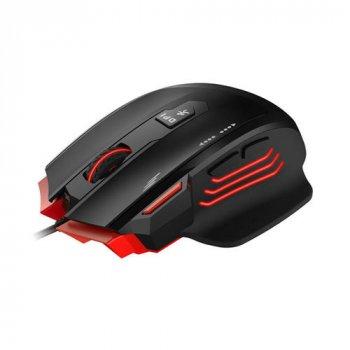 Ігрова програмована провідна миша HAVIT HV-MS1005 Black/Red