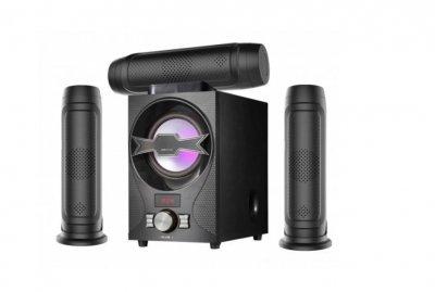 Акустическая система Домашний кинотеатр 3.1 Era Ear E-603 60W Bluetooth Активный сабвуфер и 3 колонки