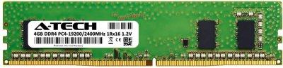 Оперативная память A-Tech 4GB DDR4-2400 (PC4-19200) DIMM 1Rx16 (DDR4/2400C17R1_16D/4G)