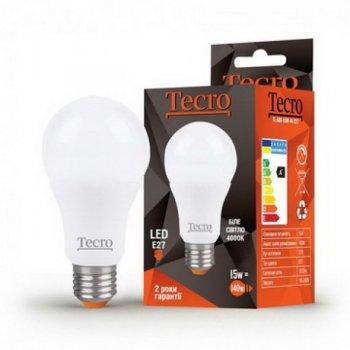 Лампа LED Tecro TL-A60-15W-4K-15W E27 4000K E27