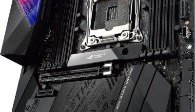 Материнская плата ASUS STRIX_X299-E_GAMING_II s2066 X299 8xDDR4, Wi-Fi!!!BT, M.2, ATX (JN63STRIX_X299-E_GAMING_II)