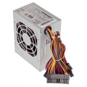 Блок живлення Logicpower Micro mATX 400W, 8см, 2 SATA, OEM, без кабеля питания
