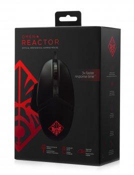 Мышь НР Omen Gaming Reactor Mouse (JN632VP02AA)