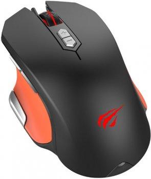 Ігрова провідна миша HAVIT HV-MS762 Black/Orange