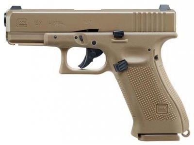 Пневматичний пістолет Umarex Glock 19X Blowback 4.5 мм (5.8367)