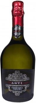 Вино игристое Contessa Chiara Asti DOCG 2020 белое сладкое 0.75 л 7.5% (8001592005475)