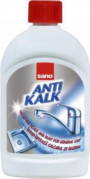 Засіб для видалення вапняного нальоту Sano Anti Kalk Rust 500 мл (7290010935543)