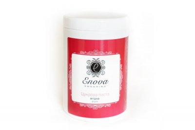 """Цукрова паста для шугарінга """"Ягідна з ароматом вишні"""" мега-м'яка Enova, 1400 мл"""