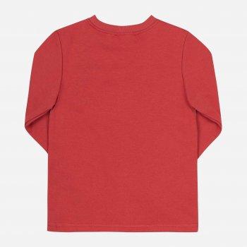 Футболка с длинными рукавами Бемби FB825 (LX0) Красный/Серый