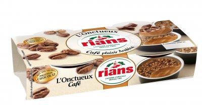 Десерт Rians сливочный кофейный с шоколадом,ТМ Ріанс, 2х94г