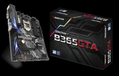 Материнська плата Biostar Intel B365 MicroATX 2 × PCIe x16 2 x DDR4 DIMM; Кількість каналів 2 24-pin 8-pin (B365GTA)